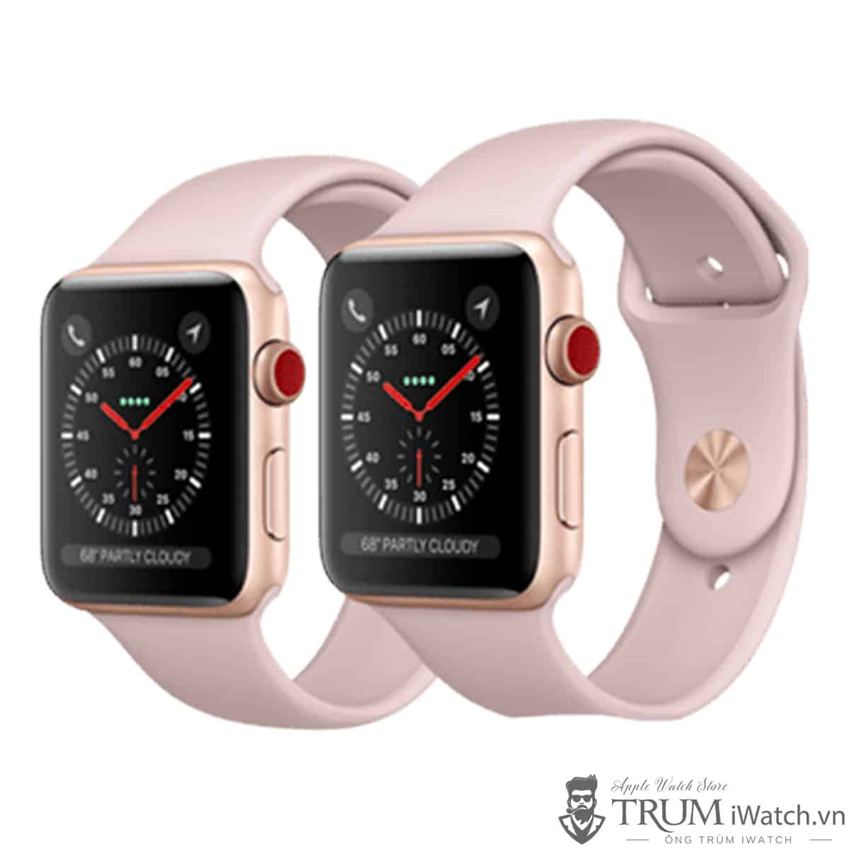 Mua Đồng Hồ Apple Watch Series 3 38mm Nhôm LTE Mới 100% Fullbox