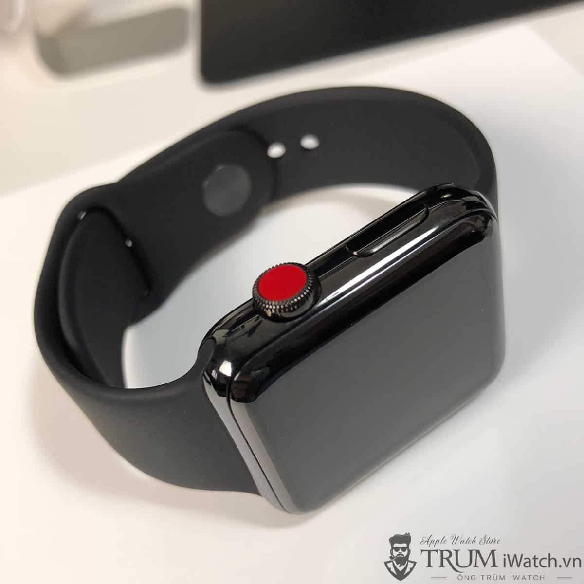 Mua Đồng Hồ Apple Watch Series 3 42mm Thép LTE Cũ Like New 99%