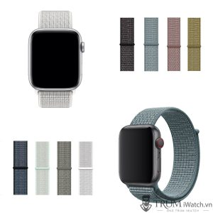 Apple Watch Nike Sport Loop - Dây đeo vải nylon Nike cho Apple Watch
