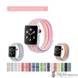 Apple Watch Sport Loop - Dây đeo vải (nylon) cho Apple Watch