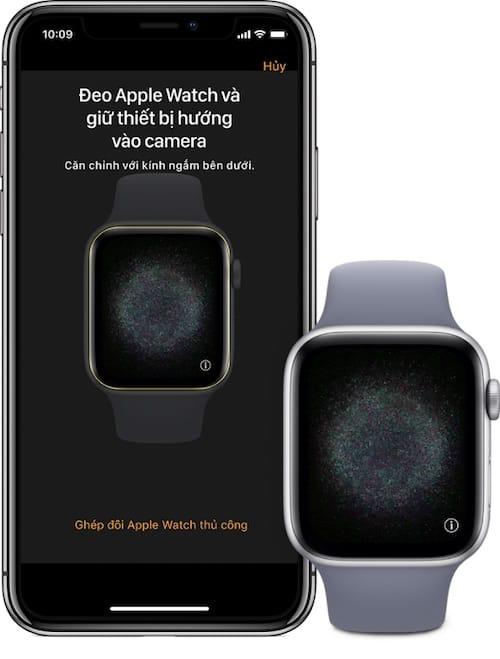 Apple watch lỗi ghép đôi