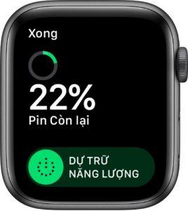 tiet kiem nang luong khi pin apple watch yeu 268x300 - Hướng dẫn cách sạc pin cho Apple Watch đúng cách hạn chế chai pin