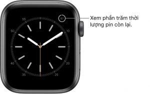 xem pin con lai cua apple watch 300x188 - Hướng dẫn cách sạc pin cho Apple Watch đúng cách hạn chế chai pin