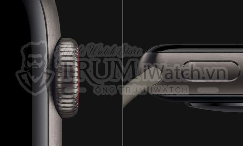 Apple Watch Series 5 phiên bản vỏ Titanium