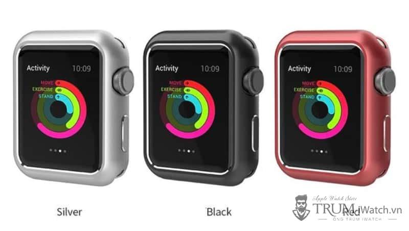 op nam cham nguyen khoi cho apple watch - Ốp nam châm cho Apple Watch (Nhôm nguyên khối)